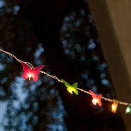 Lights.com String Lights Copper Wire Lights 20 Foot Outdoor Plug-in 120 LED Light String - Red
