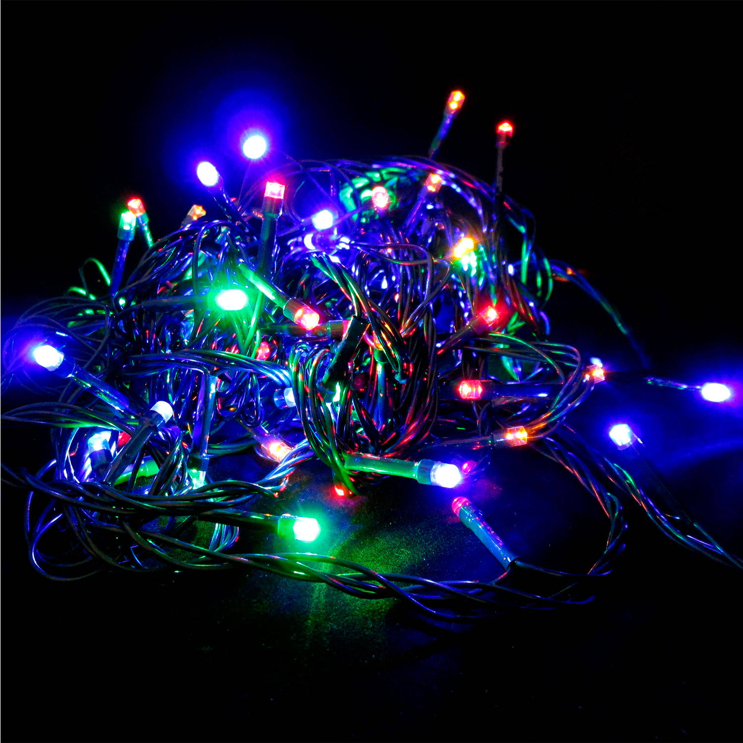 Multicolor String Lights : Lights.com Lit Decor String Lights Christmas Lights Multicolor 100 LED Strand for ...