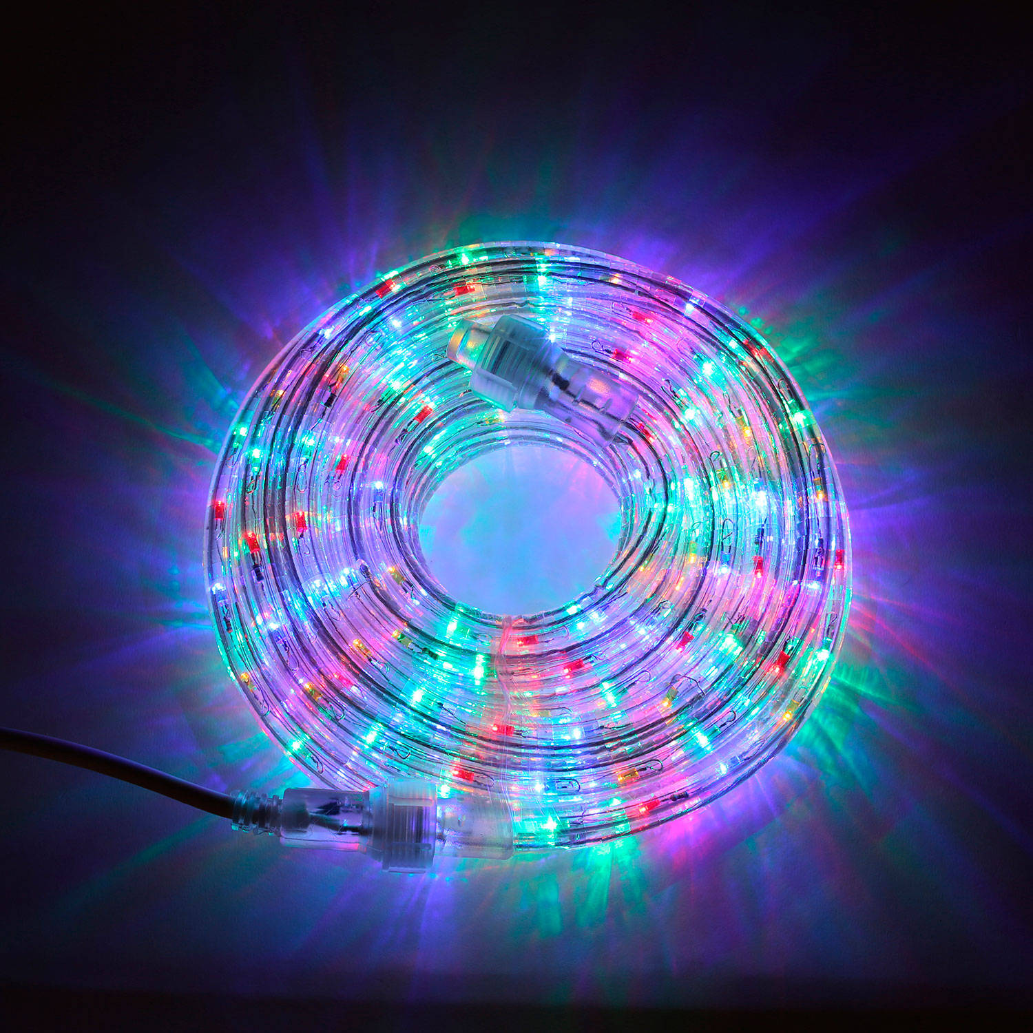 Starlight Led String Lights : Lights.com String Lights Rope Lights Plasma Multicolor Super Bright LED Rope Lights