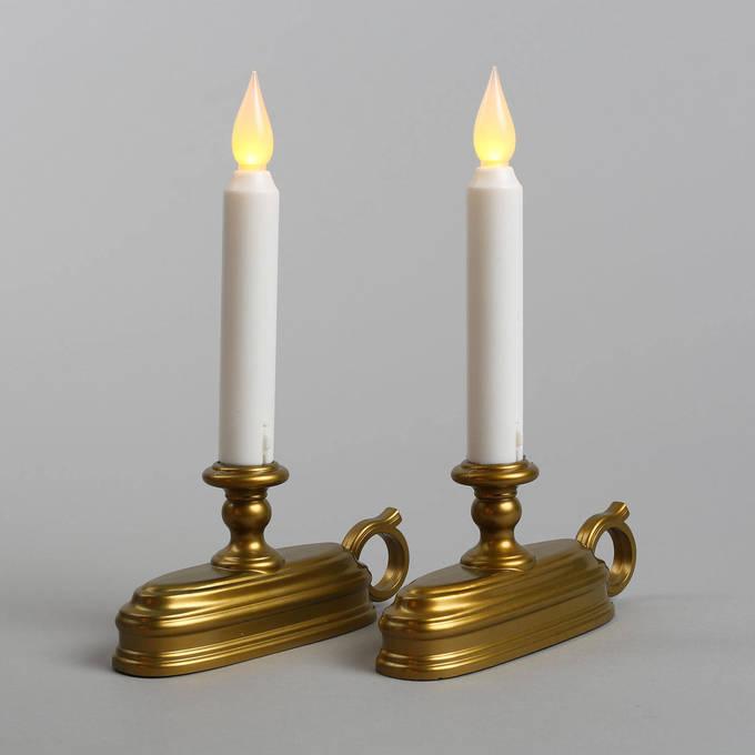 Candles window olde english flameless window candle set of 2