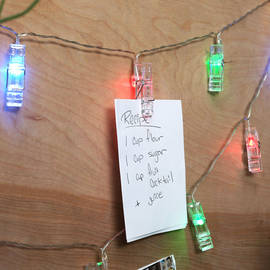 Clothespin Battery String Lights