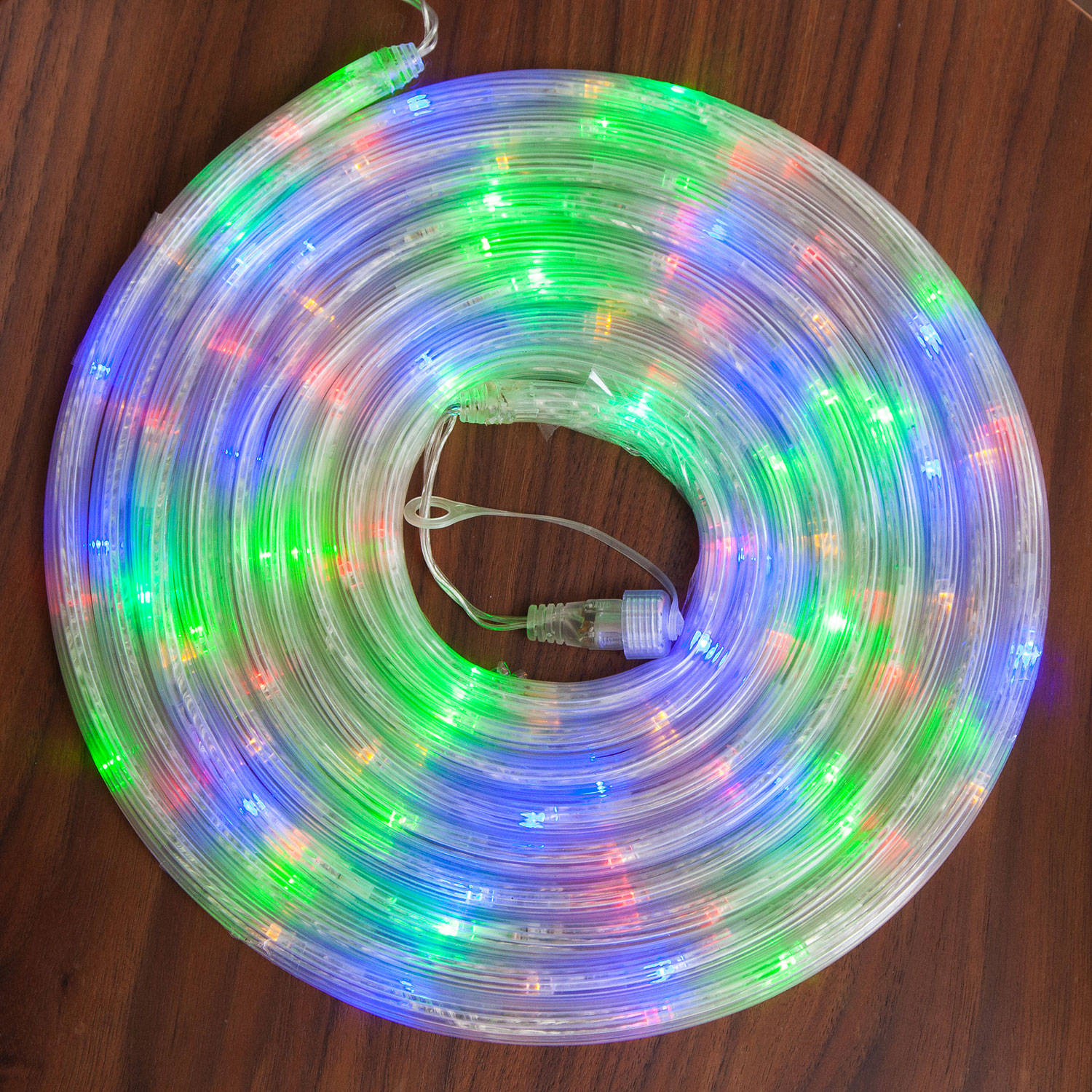Lights.com String Lights Rope Lights Color Changing 100 LED Rope Lights for Connectable System