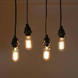 Williamsburg T14 Vintage Bulbs, 40W (E26) -  Set of 4