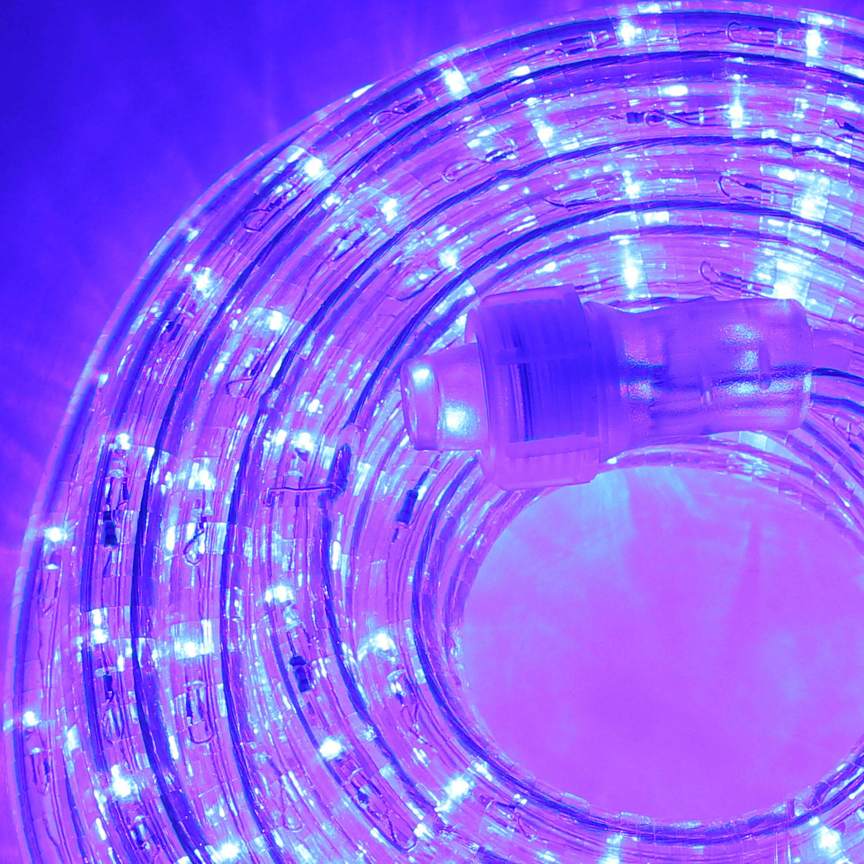 Lights.com String Lights Rope Lights Super Bright Plasma Expandable LED Plug-in Rope ...