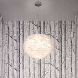 Eos XL Feather Lamp