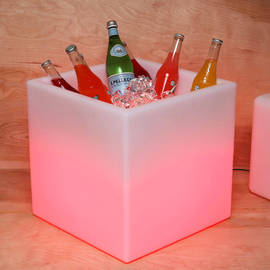 Frosted Color Changing Party Cooler