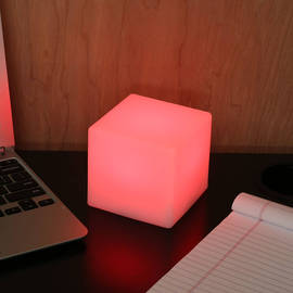 Mini Color Changing LED Table Light with Remote