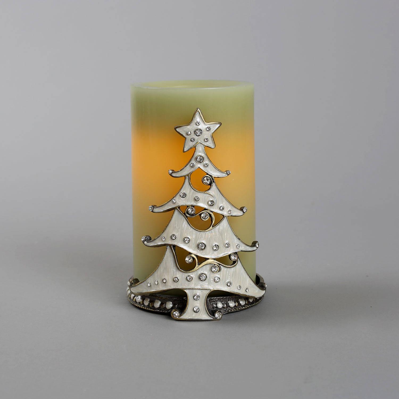 Lightscom Lit Decor Flameless Candles Pillar